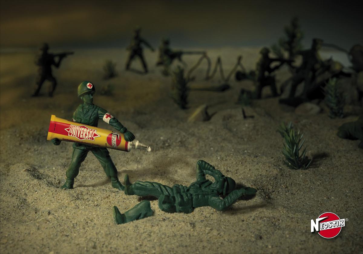 Neostik: Soldier.