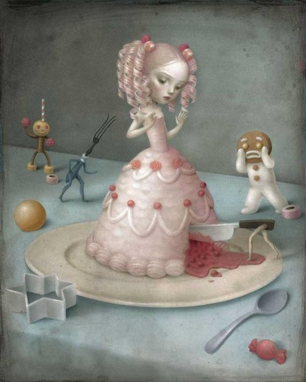 Меланхоличные миры: Nicoletta Ceccoli.