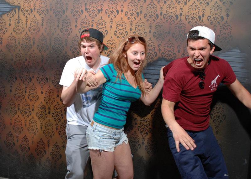 Nightmares Fear Factory: самый страшный аттракцион в мире.