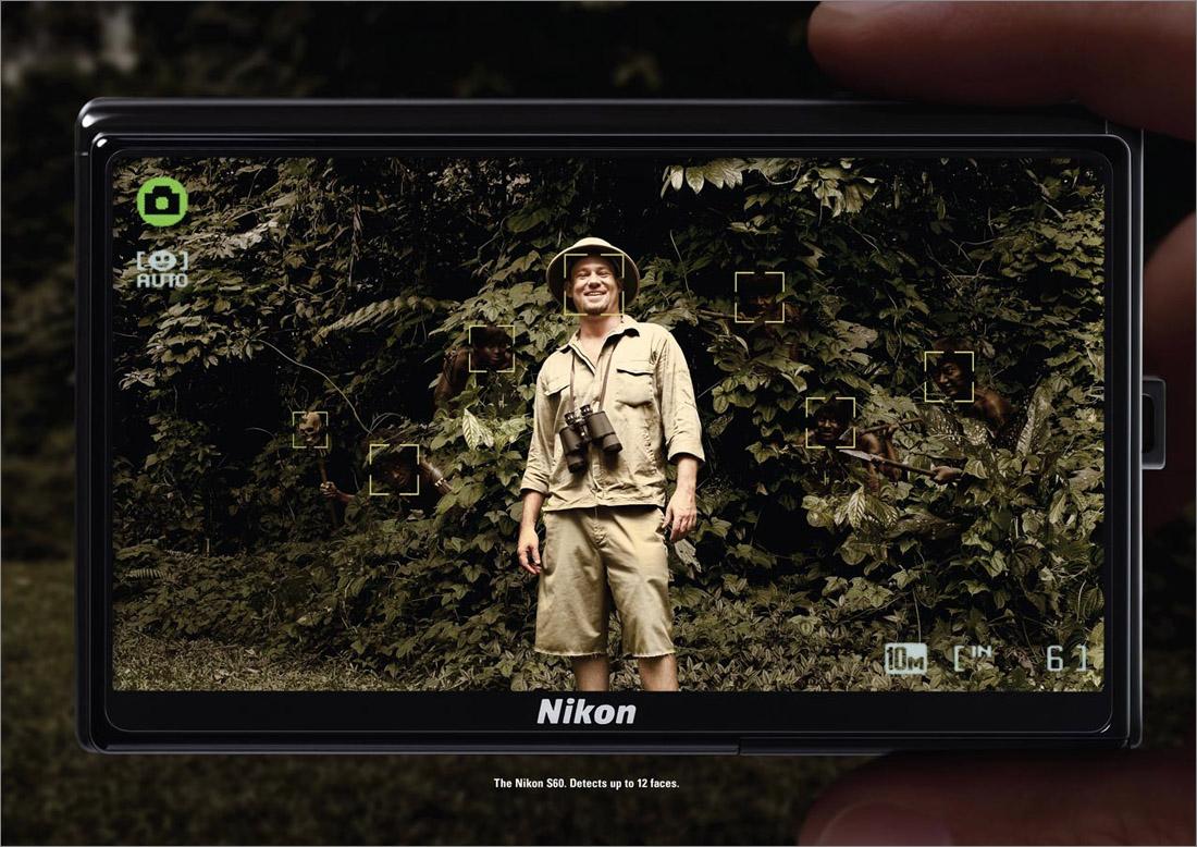 Nikon S60 найдёт все лица.