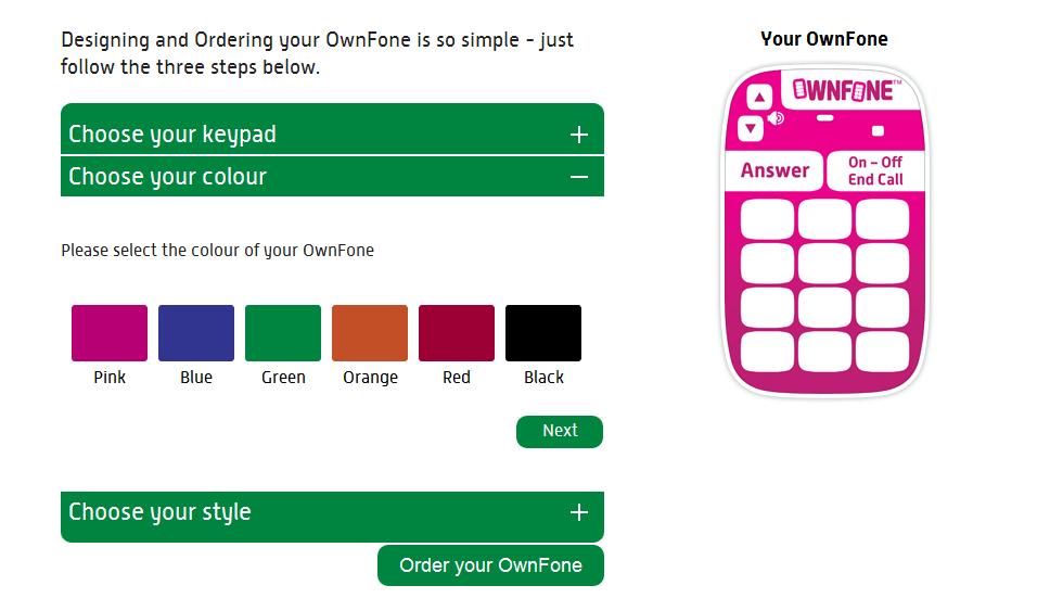 OwnFone: звонки для самых важных.