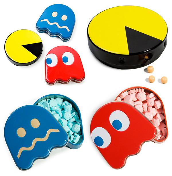 Pac-Man с конфетами.
