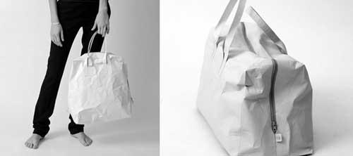Бумажные сумки Papier Bags от Saskia Diez.