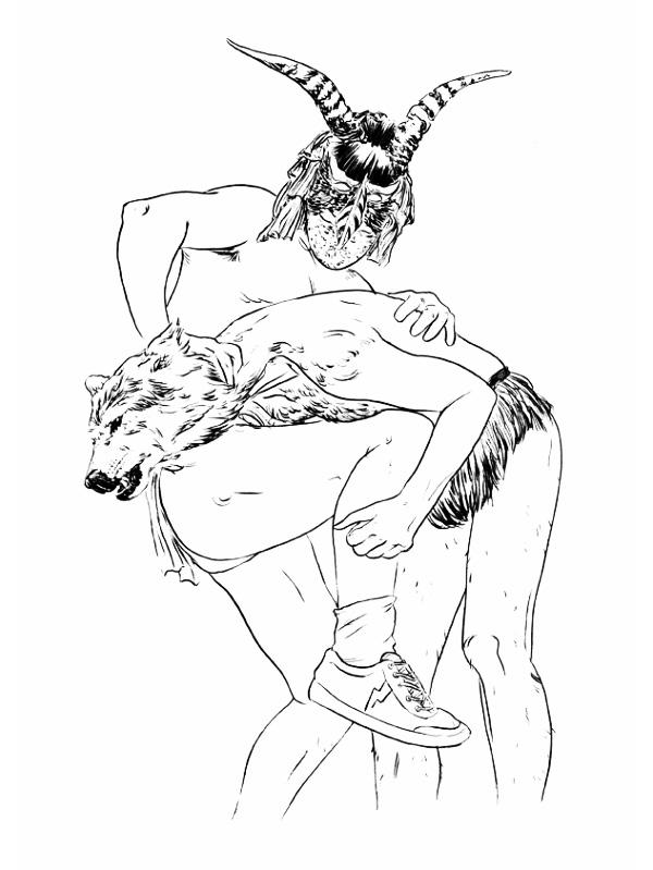 Иллюстрации Pedro Lourenco.