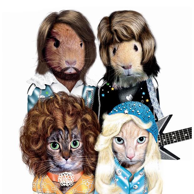 алендарь Pets Rock 2010. Животные в имидже звезд.
