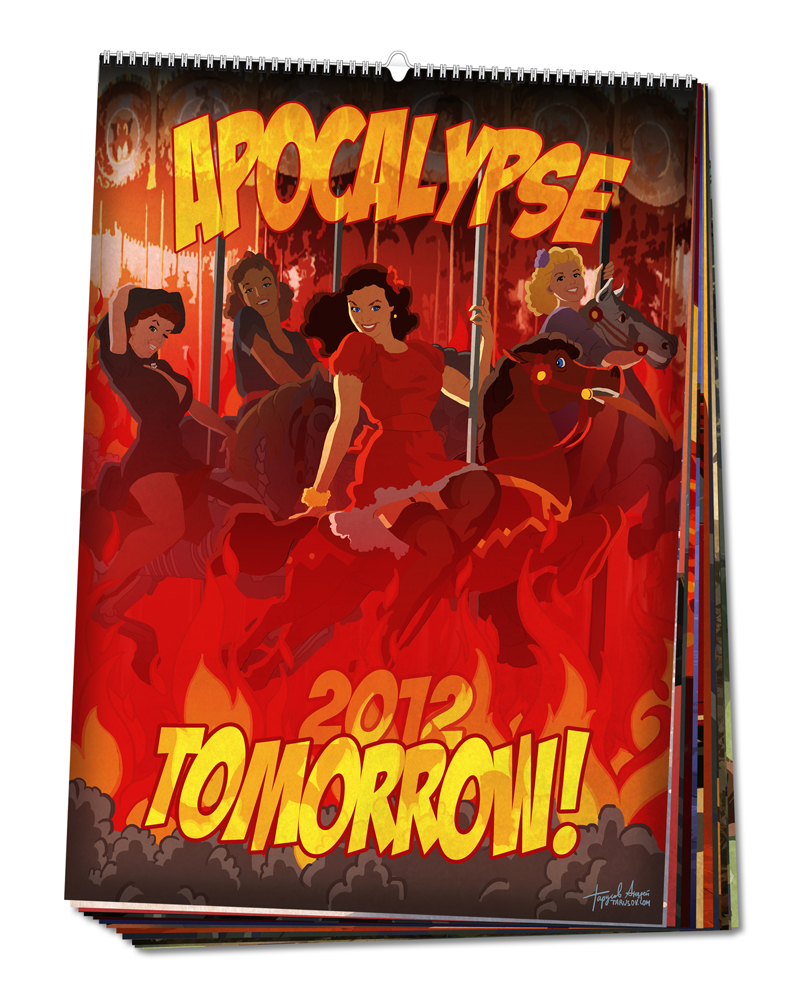Пинап календарь Apocalypse Tomorrow 2012.