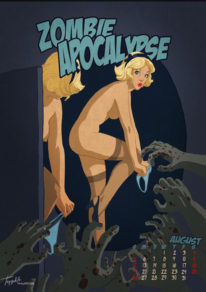 Пинап календарь Apocalypse Tomorrow 2012.