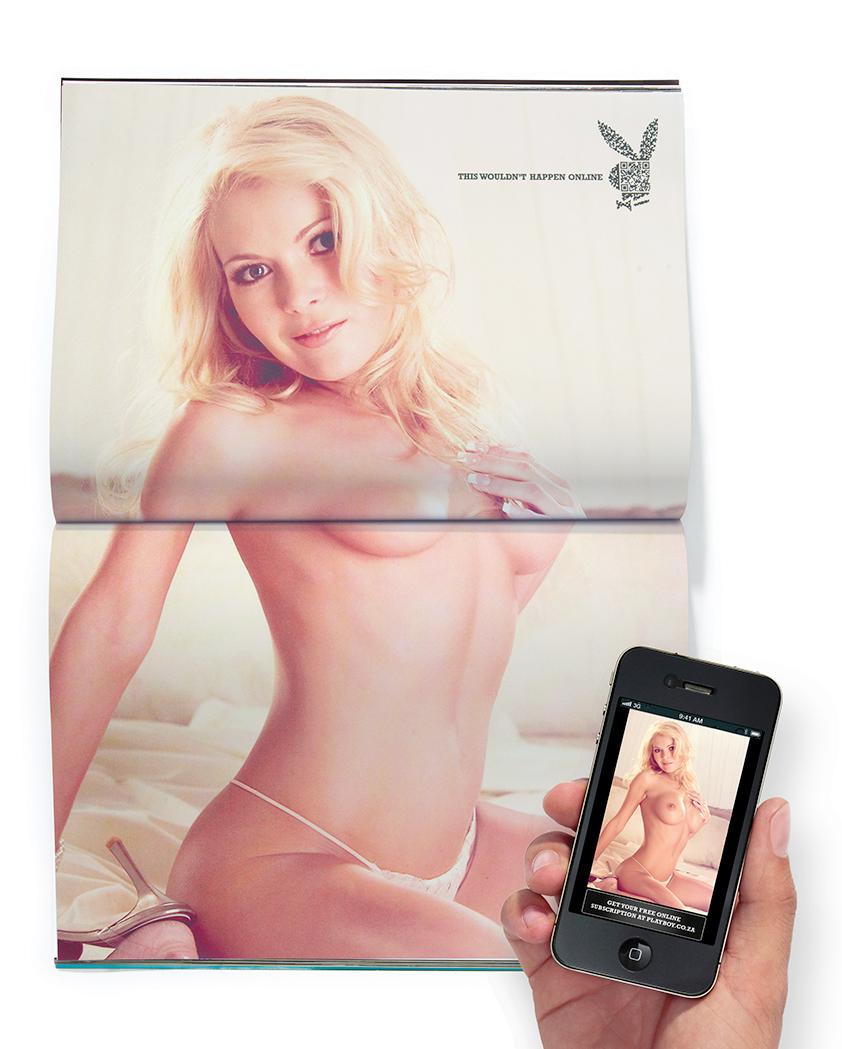 Playboy: плохо склеенные девушки.