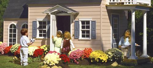 Игрушечные дома для детей.