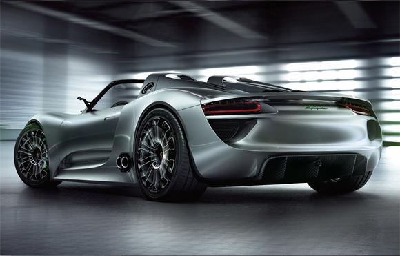 Porsche 918 Spyder Concept.