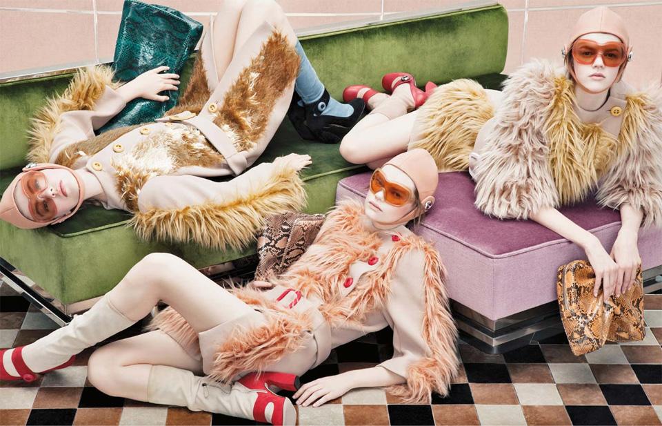 Steven Meisel для Prada: осень/зима 2011.