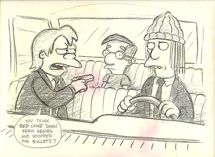 Pulp Fiction от аниматоров the Simpsons.