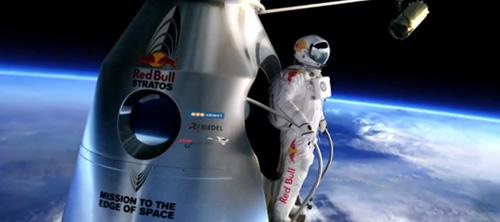 Red Bull Stratos: прыжок из стратосферы.
