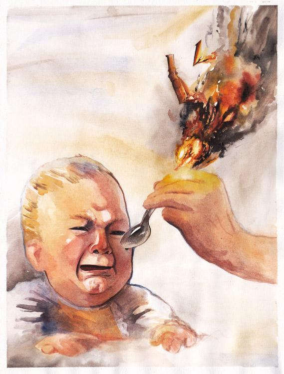 Иллюстратор Михаил Вырцев (Reey Whaar).
