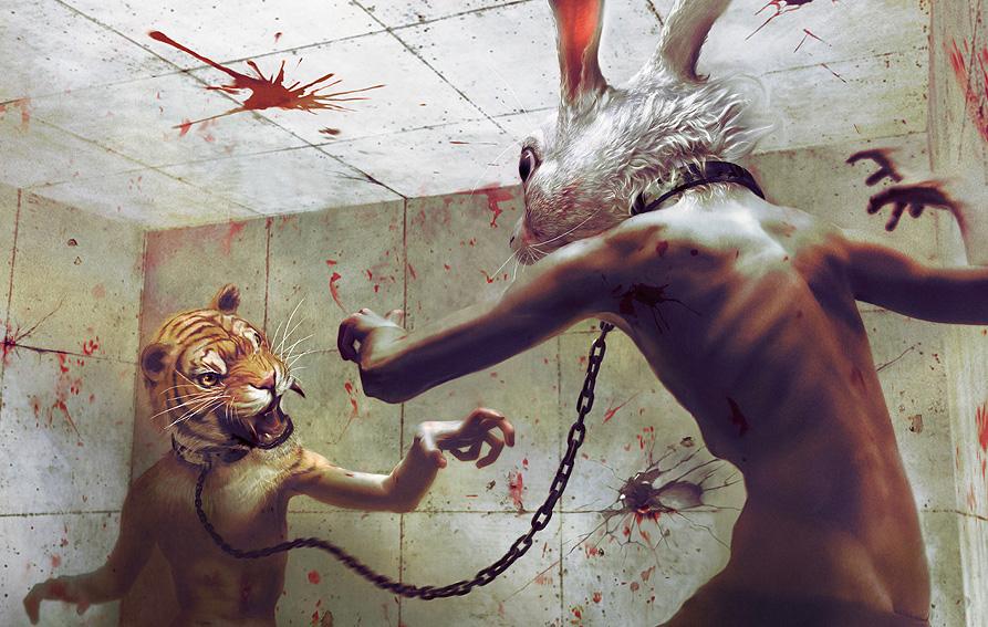 Загадочные иллюстрации Ryohei Hase.