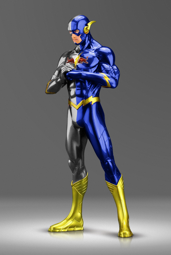 Roberto Vergati Santos: спонсорство супергероев.
