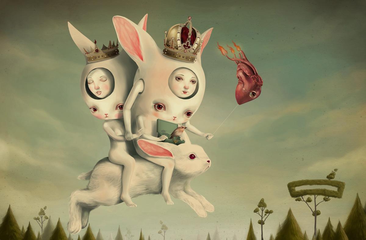 Иллюстрации Roby Dwi Antono.