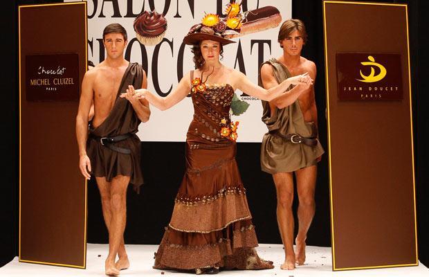 Salon du Chocolat в Париже.
