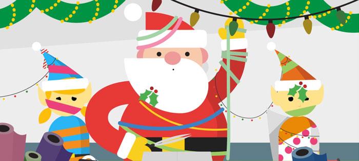 Радар Санта-Клауса от Google.