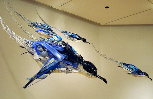 Plastic fantastic: Sayaka Ganz.