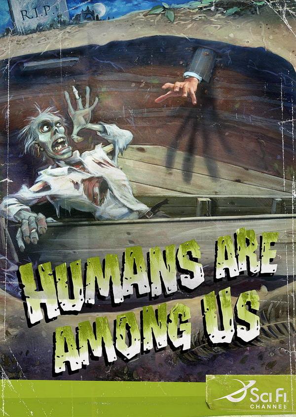 Sci Fi Channel: люди среди нас.