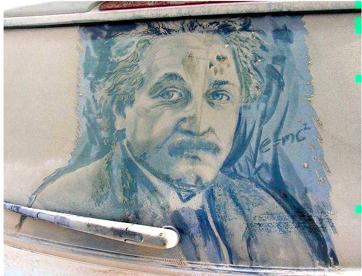 Scott Wade: картины на пыльных стеклах.