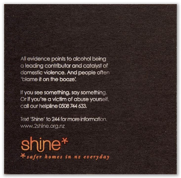 Shine: подставки под пиво.