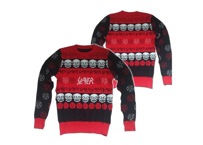 Рождественские свитера Slayer.