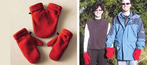Smittens: рукавицы для двоих.