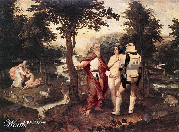 Star Wars в мировом искусстве.