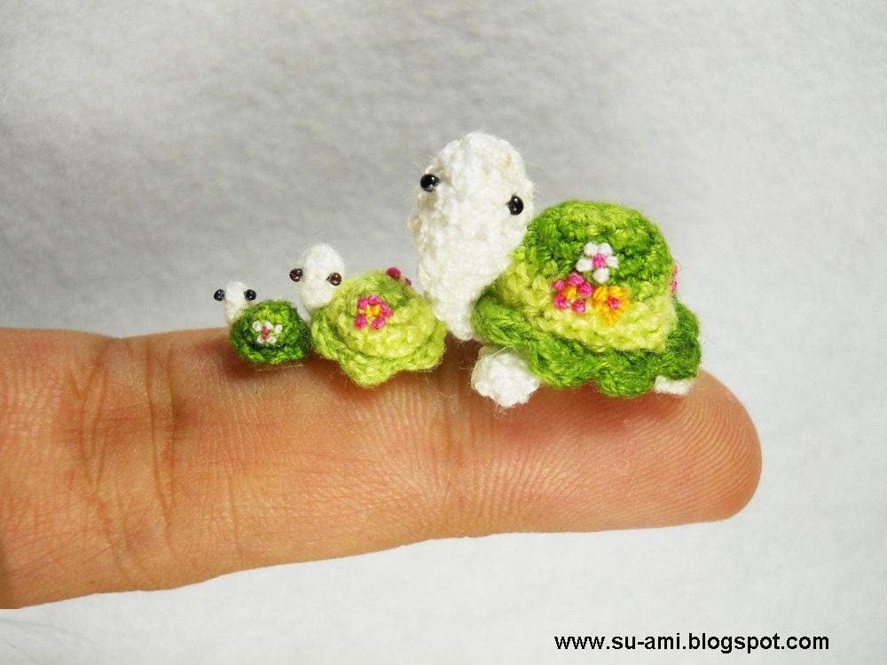 Очень маленькие существа от Su Ami.