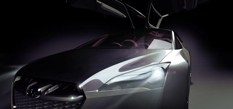 Subaru Hybrid Tourer Concept.