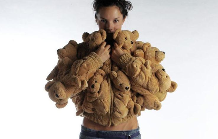 Куртка из Teddy Bear.