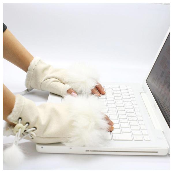 Thanko USB перчатки.