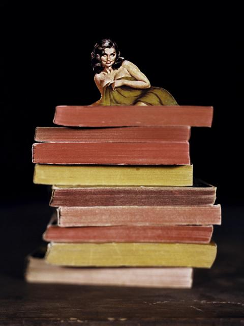Thomas Allen. Книжные аппликации.
