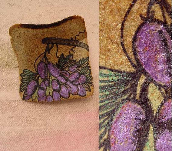 Иллюстрации на тостах: Ximena Escobar.