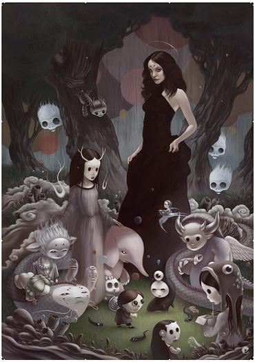 Tom Bagshaw. Иллюстрации.