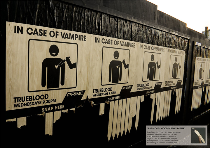 True Blood: Vampires.