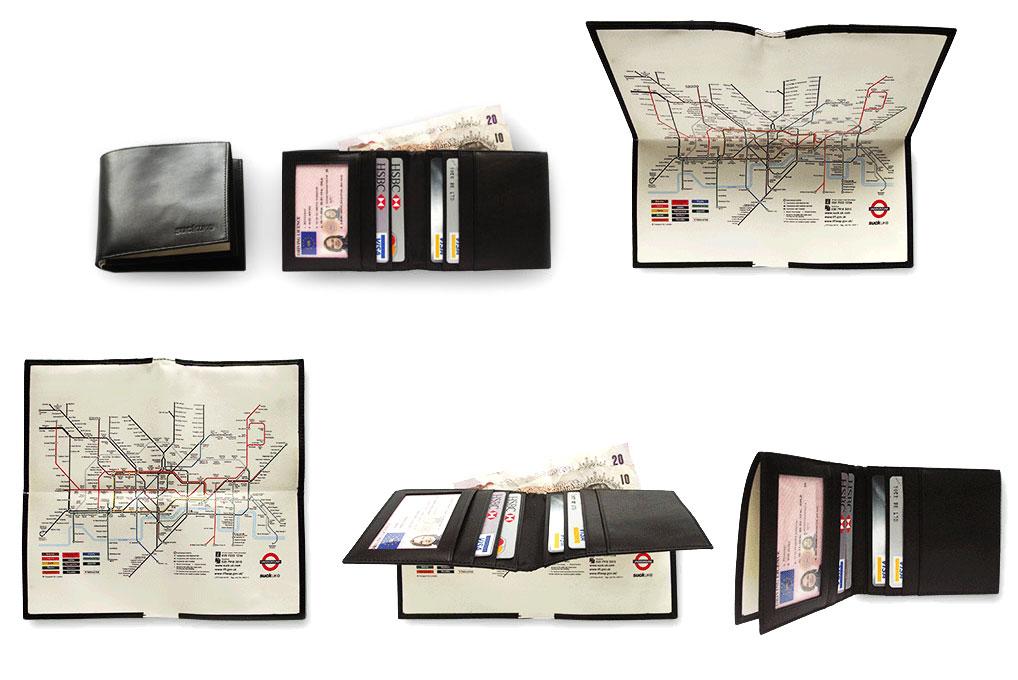 Лондонский бумажник-трансформер.