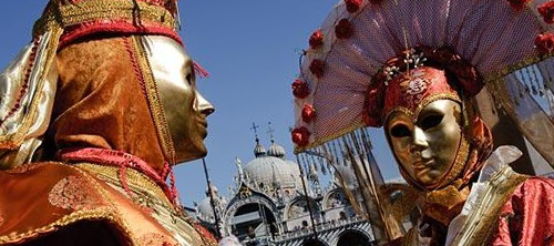 Венецианский карнавал 2009: Сенсация, шесть чувств для шести районов.