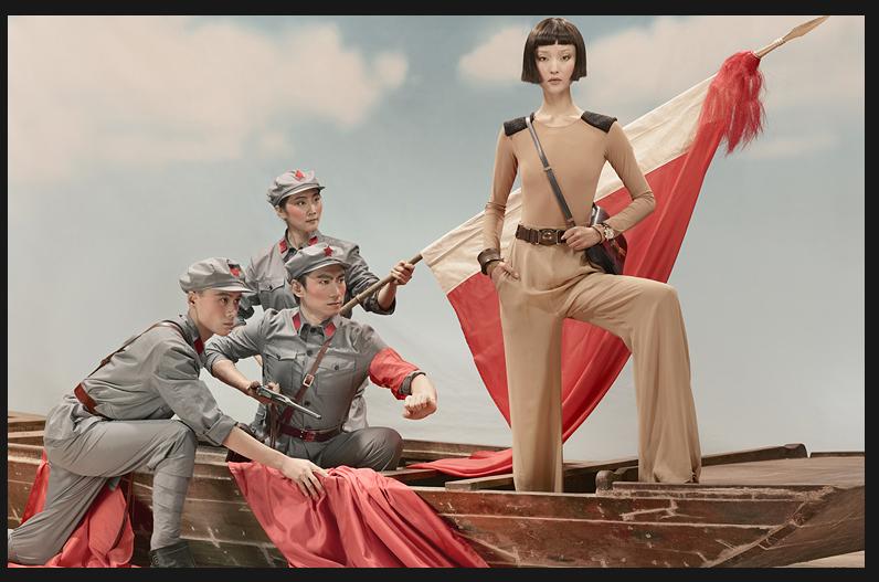Революция: Vogue China апрель 2010.