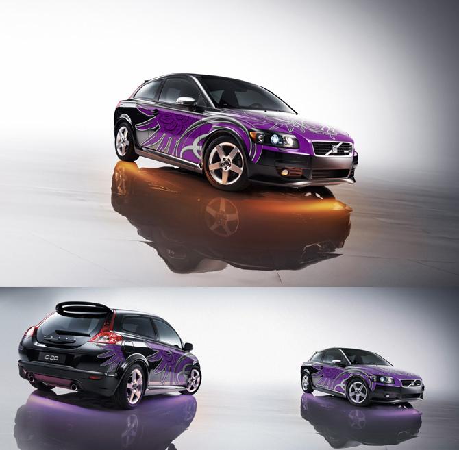 Volvo C30 Yudashkin Edition.