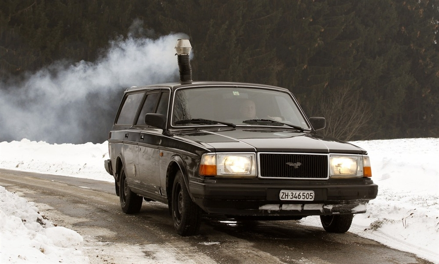 Volvo с печкой.