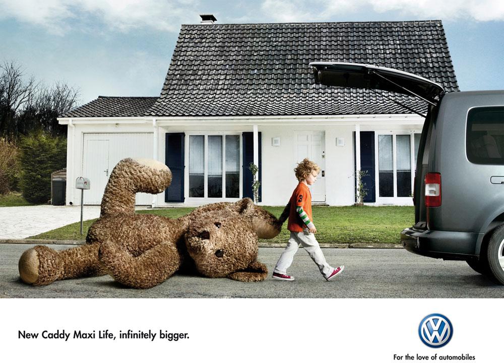 VW Caddy тоже стал больше.
