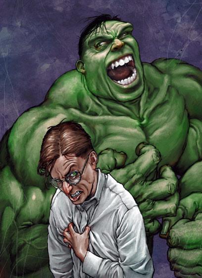 Michael Walton: супергерои и суперзлодеи.
