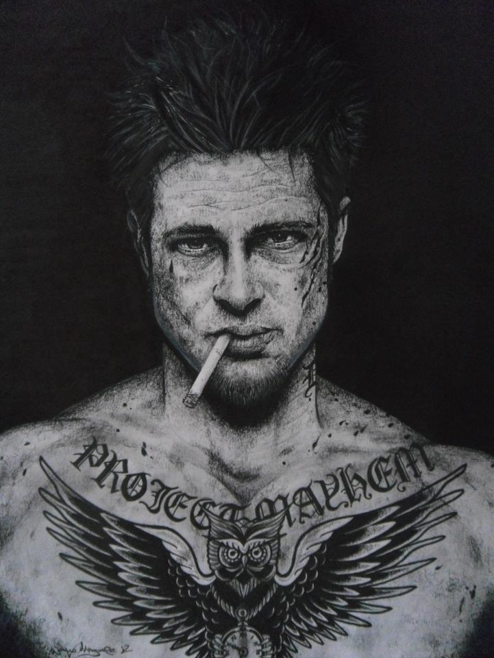 Wayne Maguire и его рисунки.