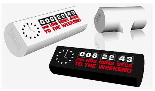 Weekend clock: самый пятничный гаджет.