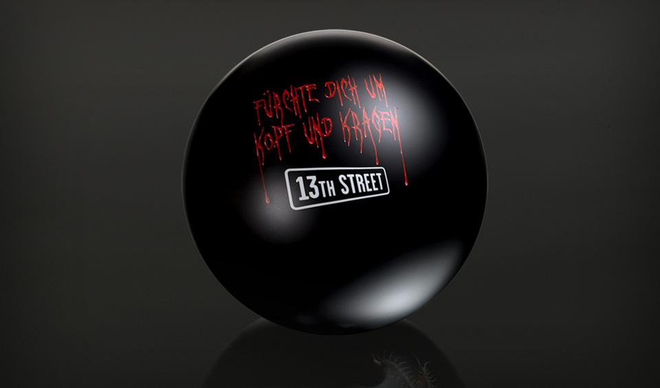 13th Street: головы для боулинга.