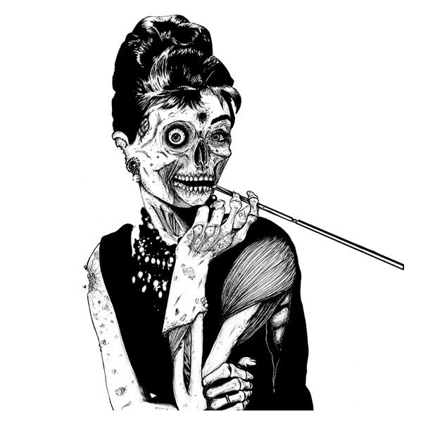Зомби у Тиффани.